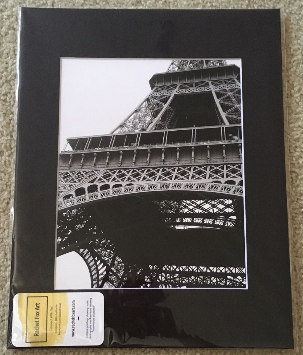 Paris 11x14 Matted Photo
